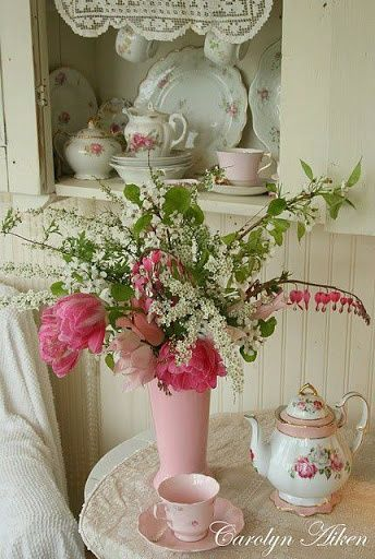 mesa e porcelana