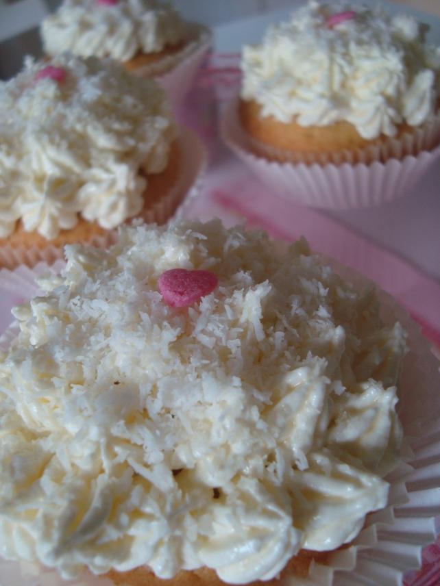 cupcake de coco