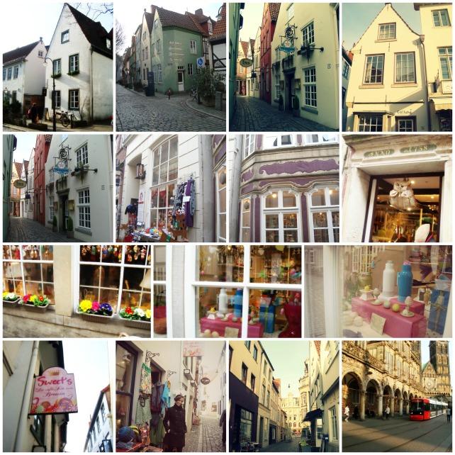 Essa é Bremen, a cidadezinha onde eu moro, localizada no norte da Alemanha.