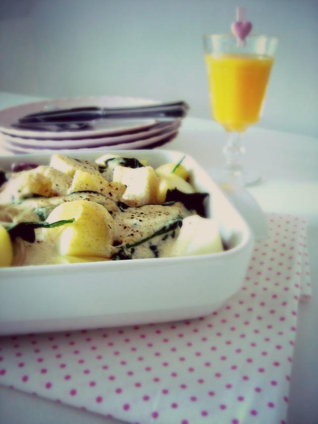 ado de salmao e espinafre