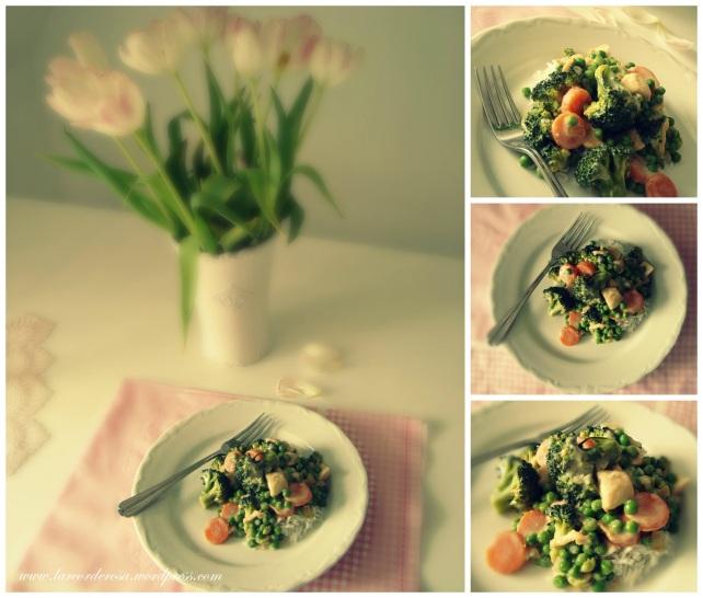 frango com verduras