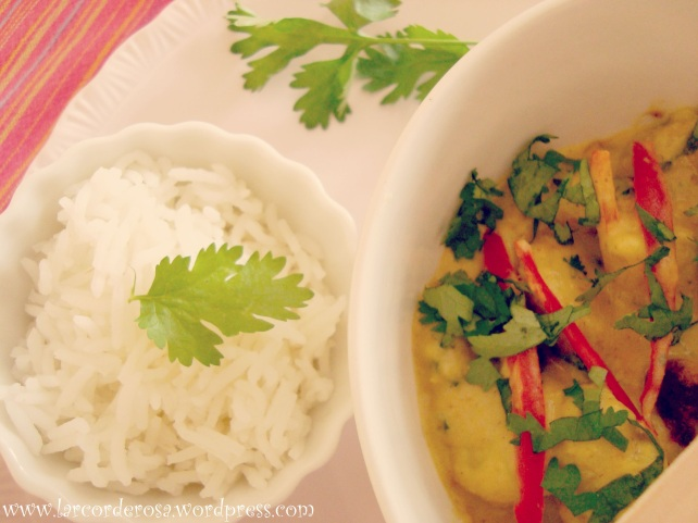 peito de frango ao molho de curry