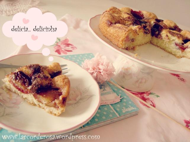 bolo de ameixa