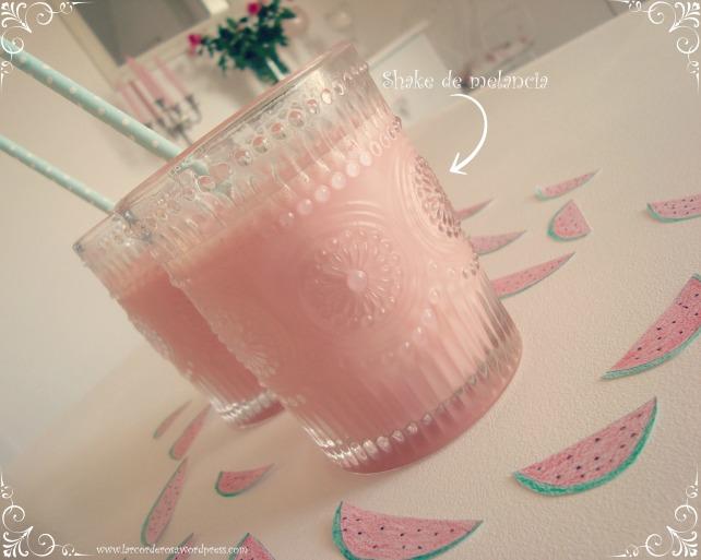 shake de melancia