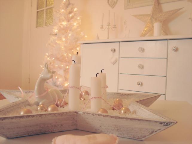decoração de natal romantica