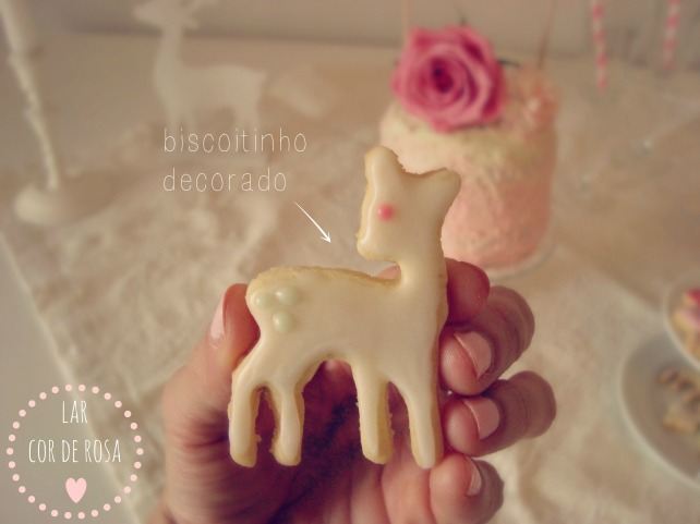 biscoito decorado