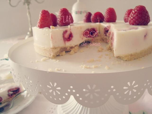 torta de framboesa